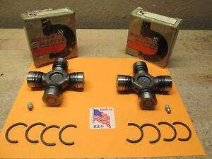 1966 TO 1989 PLYMOUTH BELVEDERE ROAD RUNNER FURY BARRACUDA NEW U-JOINT QTY.2 USA