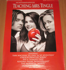 TEACHING MRS. TINGLE, Capitol soundtrack promo poster, 1999, 18x24, Katie Holmes