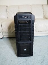 Cooler Master HAF X - High Air Flow Full Tower Windowed Computer Case with extra