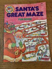 Santas Great Maze Fun Book