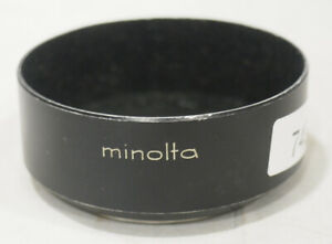 Minolta D52ND 52mm Screw in Metal Lens Hood f/ Rokkor PF 55mm 1.7 #749