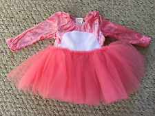 NEW Gymboree baby Easter Pink Bunny Rabbit Halloween Costume Tutu Dress 6-12 mo.
