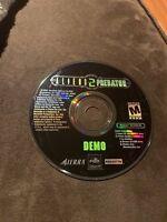 Aliens vs Predator 2 (2001, PC CDROM) Windows Demo Disc