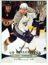 11-12 UD Upper Deck Series One  Patric Hornqvist  /100  Exclusives  PENGUINS