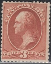 USA Scott #214 3ct Mint OG Never Hinged CV $180