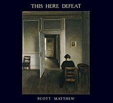 This Here Defeat - Scott Matthew (2015, CD NEUF)