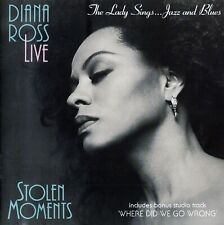 DIANA ROSS - STOLEN MOMENTS: THE LADY SINGS... JAZZ AND BLUES / CD