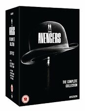 THE AVENGERS - Complete 60s TV Series Collection 39 Disc Boxset (NEW DVD)