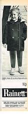 PUBLICITE  1966   RAINETT   mode enfant manteau TIGNES