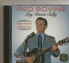 "RED SOVINE, CD ""LAY DOWN SALLY"" NEW SEALED"