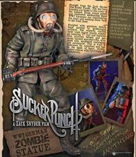 GENTLE GIANT SUCKER PUNCH GERMAN ZOMBIE SOLDIER 17in STATUE #24/275! RARE! HONEY