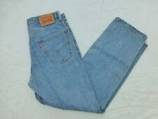 MENS LEVIS 550 RELAXED FIT JEANS SIZE 34x31.5 #M629