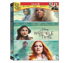 A Wrinkle In Time blu ray DVD Digital + 40 page book target oprah winfrey