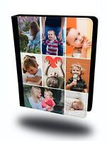 Personalised Custom Collage Photo Picture Flip Leather Tablet iPad Case Cover