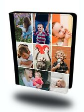 Personalised Custom Collage Photo Picture Tablet Leather Case Cover
