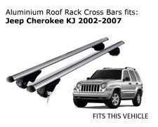 Aluminium Roof Rack Cross Bars fits JEEP CHEROKEE KJ with roof rails 2002-2007
