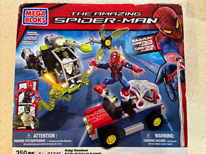 MEGA BLOKS The Amazing Spider-man 91346 Bridge Showdown New