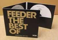 FEEDER The Best Of 2017 UK 50-track promo 3-CD Grant Nicholas