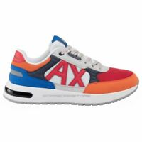 Scarpe uomo Armani Exchange sneakers XUX052 XV205 Multicolor Primavera / Estate