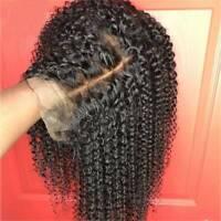 Glueless Kinky Curly 13X6 Lace Front Wig 100% Brazilian Human Hair Wig Women N66