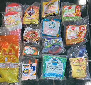Lot of 14. McDonald's Happy Meal Toys  1993& 1994. Assorted. See Photos.