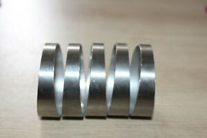 """5pcs Exhaust Intake Pie Cuts 2.5"""" Stainless Steel 5 pieces makes 45 Degrees"""
