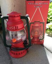 Vintage SNOW DAY'S Christmas Flickering Snowman Lantern Decoration