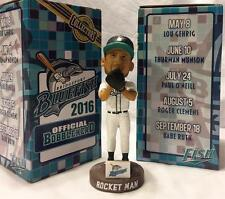 "2016 BRIDGEPORT BLUEFISH ROGER CLEMENS ""ROCKET MAN"" SGA BOBBLEHEAD ~ NIB!"