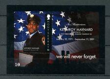 Montserrat 2011 MNH September 11th 10 Years 1v S/S Keithroy Maynard Stamps