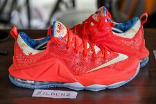 more photos 474b7 32a83 NIKE LEBRON 12 (XII) LOW TRAINWRECK MOVIE SZ 11 PE SAMPLE FRIENDS FAMILY  PALMER
