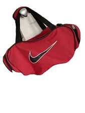Nike Sports Bag In Black Red
