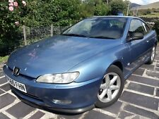 Peugeot 406 V6 Coupe, Blue, Leather interior