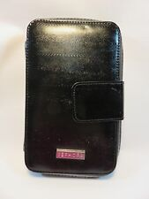 Sephora Collection Black 8-Piece Brush Set with Black Snakeskin Case-BRAND NEW