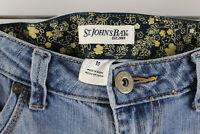 St Johns Bay Light Blue Women's Jeans Size 10