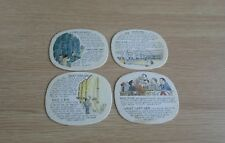 4 x Different Stella Artois Beermats
