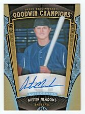 2015 Goodwin Champions Autograph #153 Austin Meadows All Star Rookie SP RC