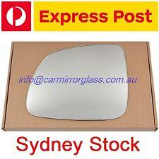 LEFT PASSENGER SIDE MIRROR GLASS FOR Holden Captiva CG CG7 2006 - 2010