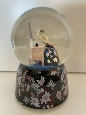 More details for musical snowglobe waterglobe past times barbier backless dress plays fur elise