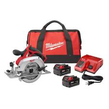Milwaukee 2630-22 M18 Cordless Lithium-Ion 6-1/2-inch Circular Saw Kit New
