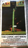 R. Crumb Krazy Cat Comic Art Show Poster From Whitney 1983 cartoon