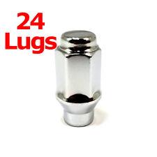 """24x Excalibur 7807 Lug Nuts 12x1.50 Bulge Acorn 3/4"""" Hex Chrome Closed End ET"""