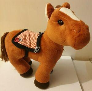 Cabbage Patch Kids CPK Original Appalachian Artworks Brown Horse Pony Plush 2005