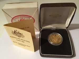 1980 Gold $200 Proof Coin Australia Koala First Year Issue - 10 grams 22 Karat