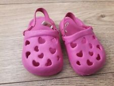Mothercare pink genuine Crocs sandals beach toddlers shoes  1 Year old