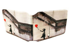 Exotic Rail Bus Travel Business Credit ID Slim Wallet Holder for Oyster Card Lot Banksy There Is Always Hope