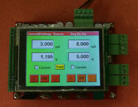 5uA-20mA Digital uA Current Voltage Source CC CV 2-CH with TFT Touch LCD