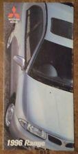 MITSUBISHI RANGE orig 1996 UK Mkt Brochure - Colt Galant 3000GT Shogun Carisma
