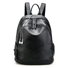2018 Leisure Fashion USB Backpack Women Leather Bag Women Mochila School Bags