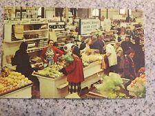 Postcard Unused Pennsylvania, Lancaster Famous Farmers Market Heart Of Dutchland