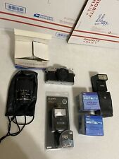 Minolta XG-1 Camera Body Only And Other Random Parts Toyo 28-80mm Auto Zoom LOOK